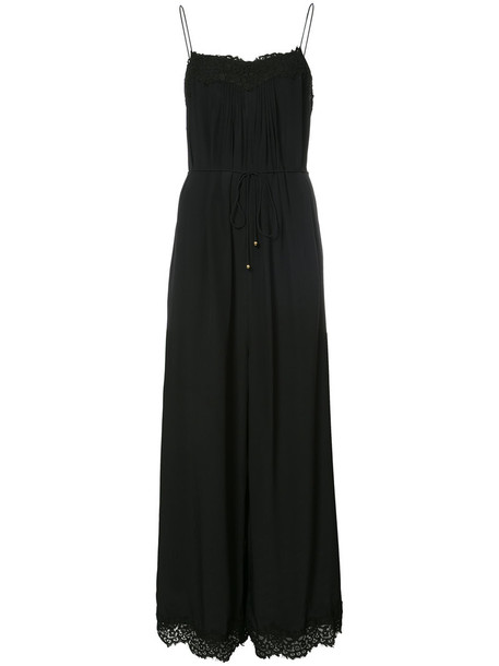 Zimmermann jumpsuit women lace black