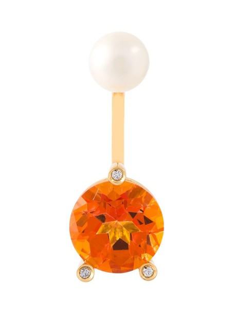 triangle women magic gold yellow orange jewels