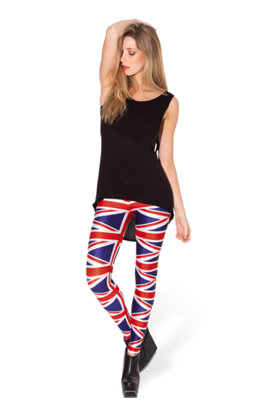 Union Jack Leggings - LIMITED › Black Milk Clothing