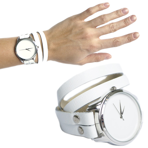 jewels ziz watch watch watch leather watch white watch white beautiful watch unique watch unusual watch ziziztime