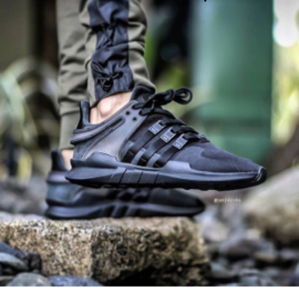 shoes black shoes adidas