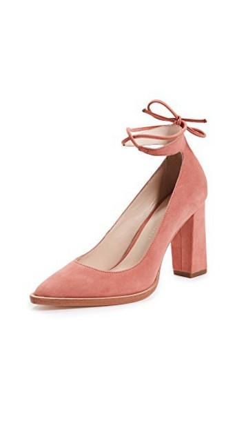 Loeffler Randall suede pumps pumps suede rose shoes