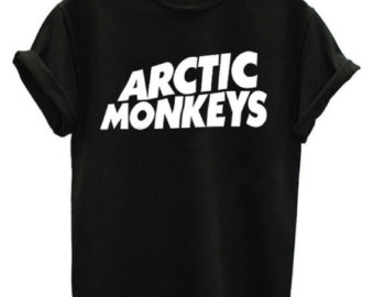 Popular items for arctic monkeys shirt on Etsy