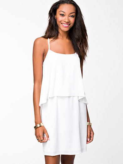 Senna Mini Dress - Vero Moda - White - Dresses - Clothing - Women - Nelly.com