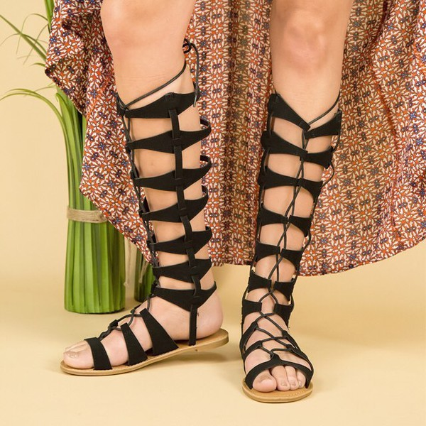 shoes gladiators style fashion trendy fashionistam strappy sandals boho qupid