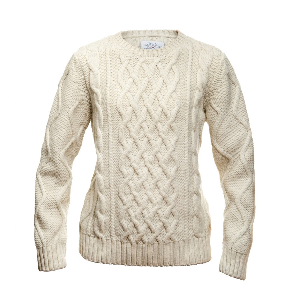 Boast Chunky Cable Sweater - Womens