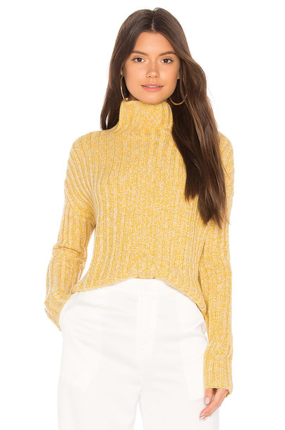 BROWN ALLAN sweater yellow