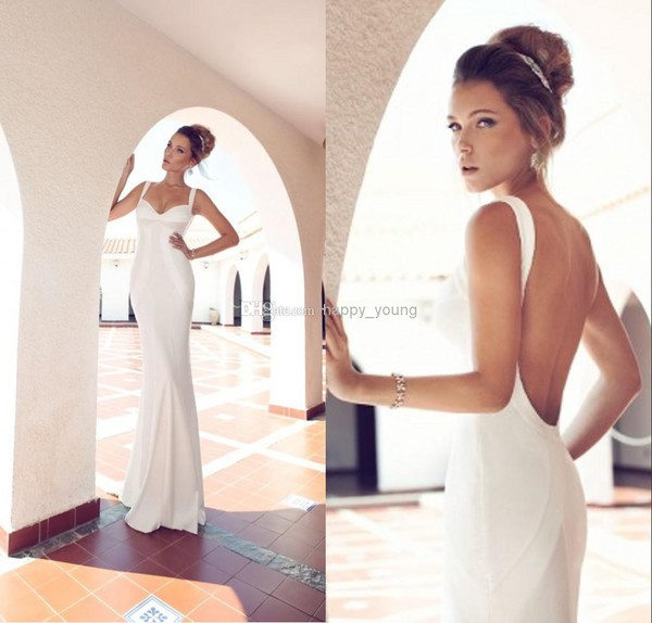 sheath wedding dress wedding dress satin wedding dress wedding dress uk bridal gown backless wedding dress