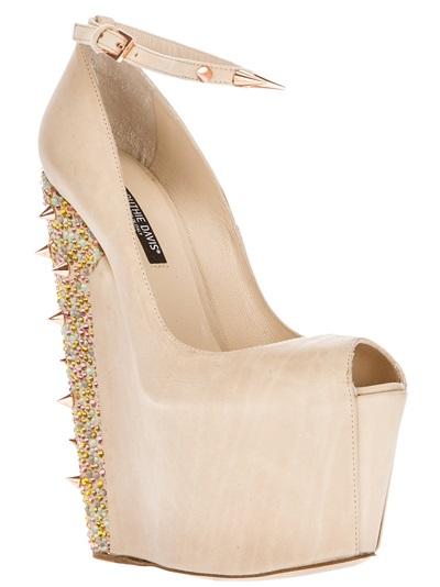 Ruthie Davis Wedge Shoe - Box Boutique - Farfetch.com