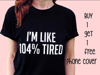 black top quote on it graphic tee