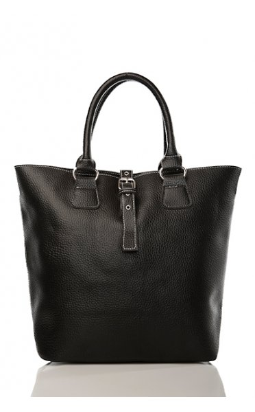 Downtown Tote Bag In Black - from The Fashion Bible UK