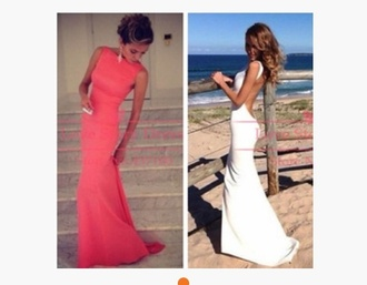 dress wedding dress prom dress open back prom dress open back dresses coral prom dress coral evening dresses coral evening gowns wedding gown sexy wedding dress sexy party dresses evening dresses 2014 new arrival dress ball gown dress evening dress starry night