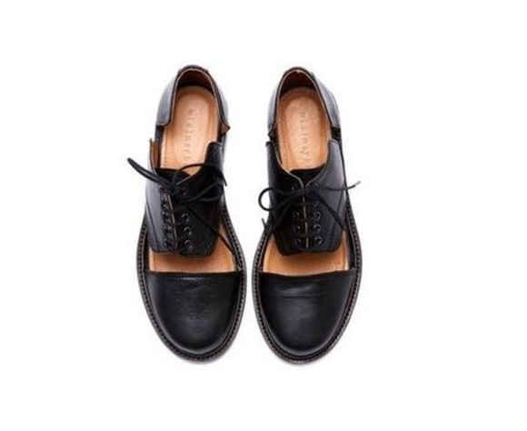 shoes black derbies