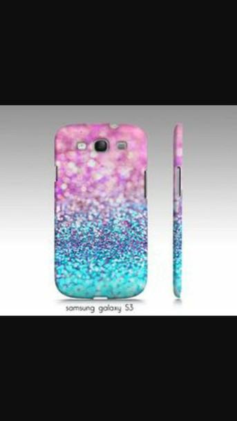 phone cover galaxy s3 phone case blue case