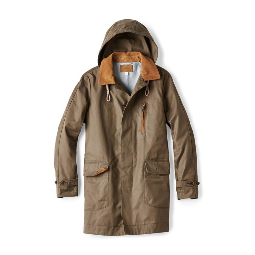James Modern Trench Coat