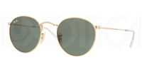 Ray Ban RB 3447 Round Metal Sunglasses 001
