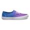 Ombre hollyhock surf the web in men's shoes