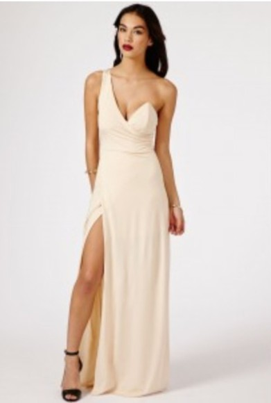 bustier bustier dress formal nude long evening dress