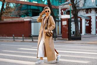 blogger sweater the mysterious girl jeans coat bag shoes sunglasses