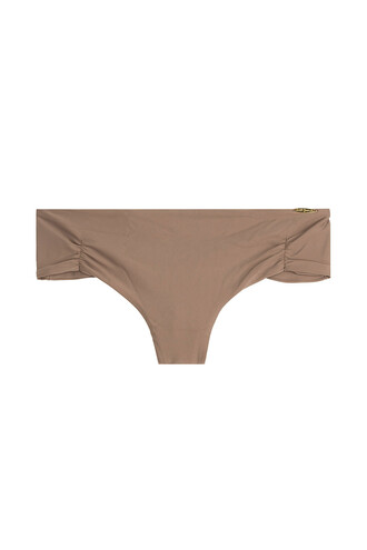 bikini bikini bottoms lace brown swimwear
