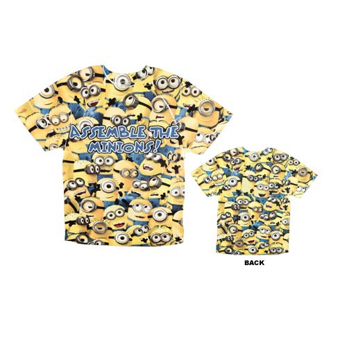 Despicable Me™ Assemble The Minions Adult T-Shirt | Universal Orlando™