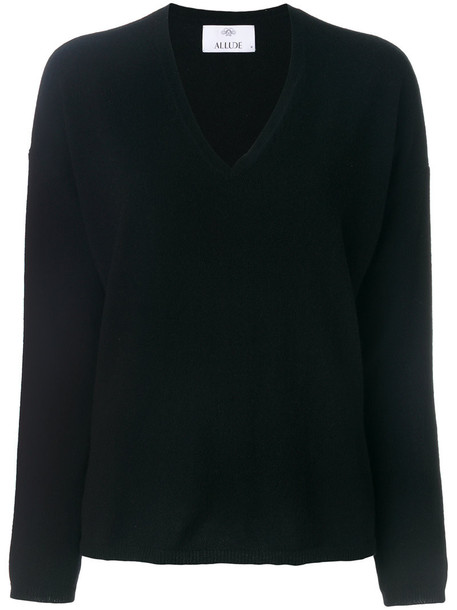 Allude jumper women black sweater