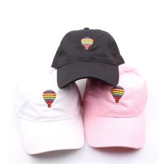 hat cap fashion style trendy pink black cool teenagers summer beautifulhalo