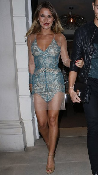 fashion sexy dress i want this!! gorgeous sam faiers summer dress date night dress party dress love