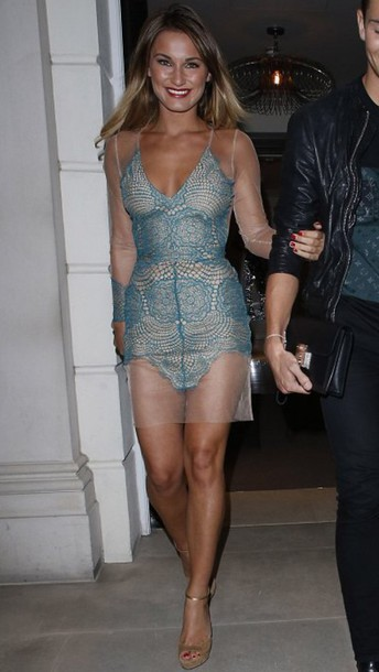 i want this!! gorgeous sam faiers sexy dress summer dress date dress party dress fashion love date outfit dress