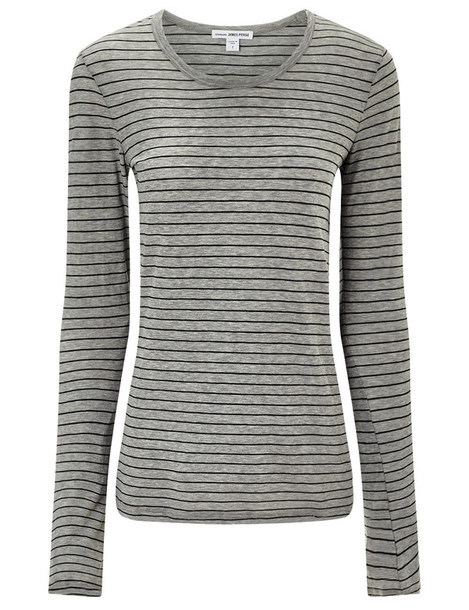 James Perse t-shirt shirt t-shirt cotton black