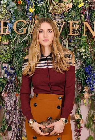 skirt shirt blouse blogger fall outfits instagram fall colors pernille teisbaek