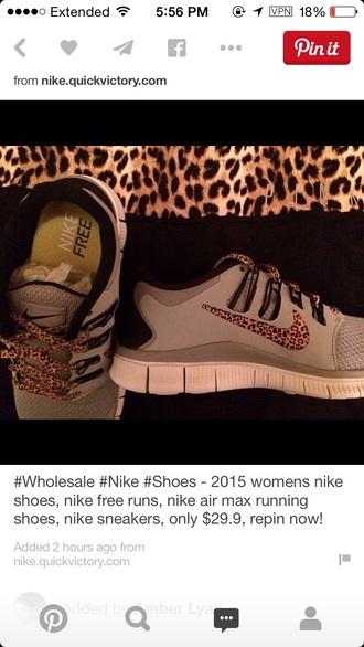 shoes nike running shoes nike shoes nike cheetah print grey