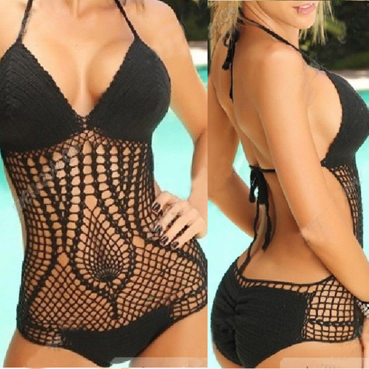 Boho Eyelet One Piece Swimsuit