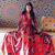 Women cotton thin V-neck big bohemian Dress