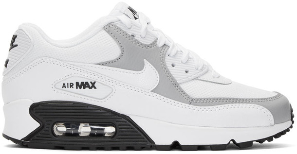 Nike sneakers white grey shoes