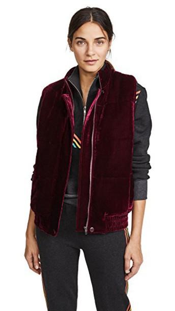 BB Dakota vest velvet jacket