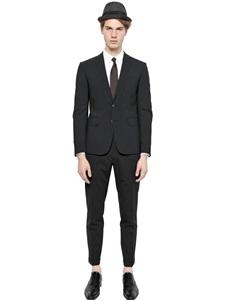 Paris stretch wool suit