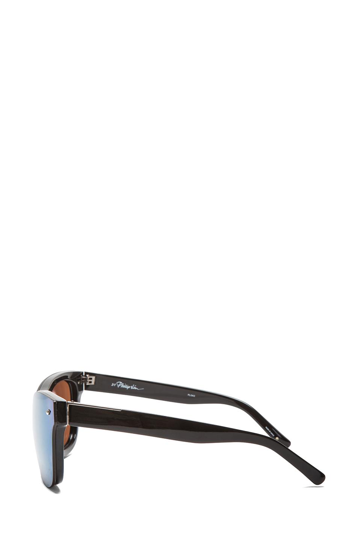 3.1 phillip lim   Multichrome Wayfarer Sunglasses in Black