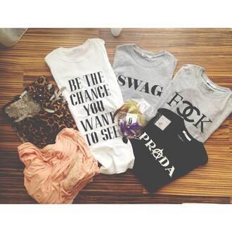 shirt top swag top prada fashion fashionable tops