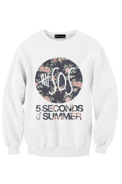 All the latest Hoodies, T-Shirts Pants and much more form 5 Seconds of Summer.