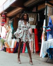 dress,short dress,floral,summer s,sandals