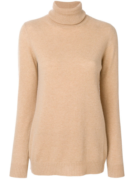Max Mara Studio jumper women wool brown sweater