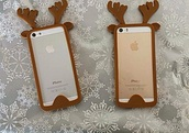phone cover,iphone 6 case,deer,christmas,iphone case,earphones
