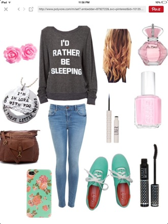 sweater phone case shoes bag