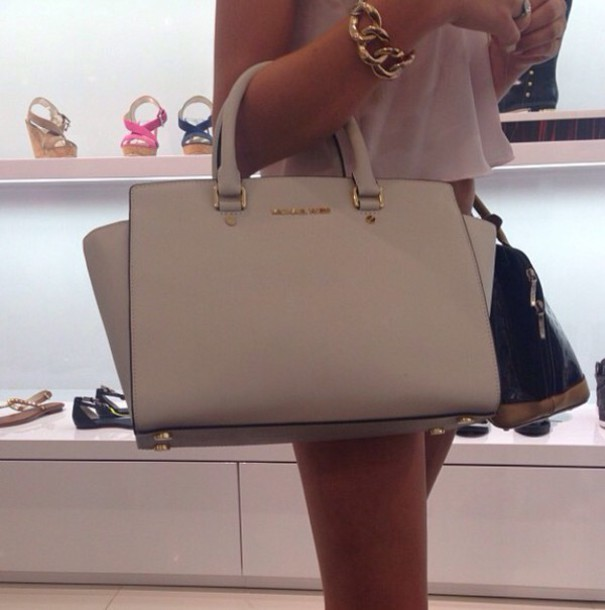 bag michael kors bag michael kors creme creme bag classy white bag handbag