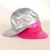 hat,cap,cute,swag,nacre,holographic,wavy