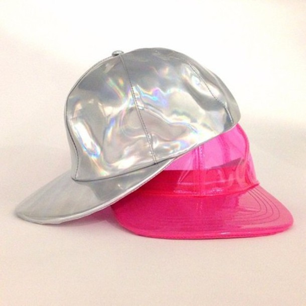 hat cap cute swag nacre holographic holographic holographic wavy