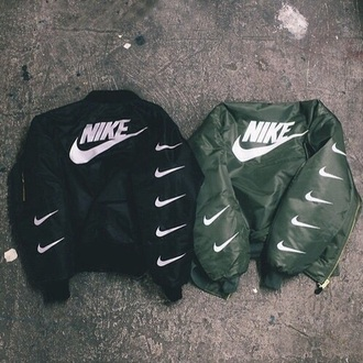 jacket nike hoodie leather black winter outfits swag vintage urban