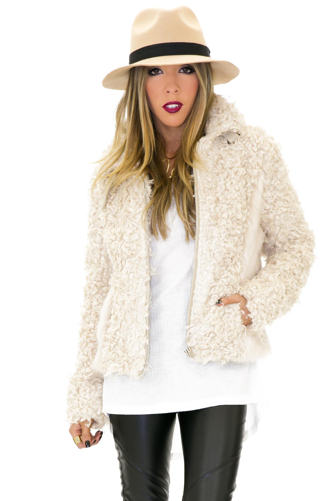 Franklin shearling jacket