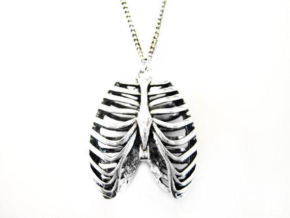 Rib Cage Necklace